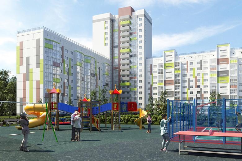 Переезжайте в семейный микрорайон в Новосибирске