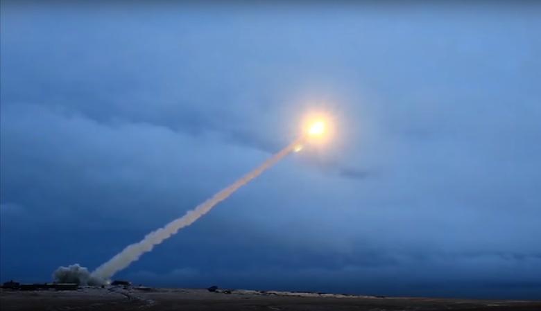Испытаниекрылатойракеты с ядерным двигателем «Буревестник»