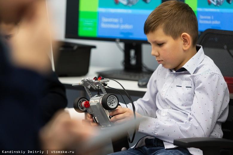 Жвачкин: центры робототехники есть во всех детских садах Томской области