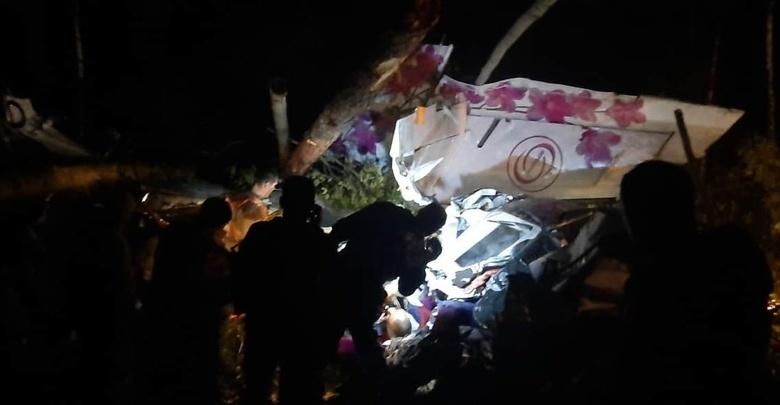 Четыре человека погибли при крушении самолета в Иркутской области