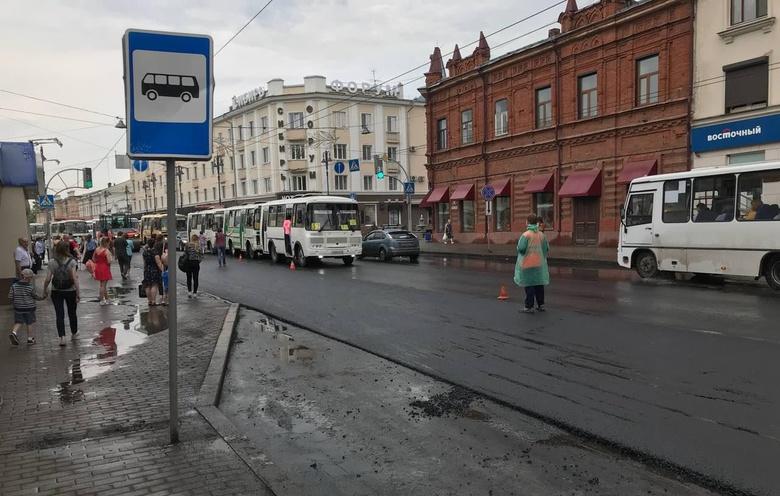 Подрядчик завершил основные ремонтные работы на проспекте Ленина в Томске
