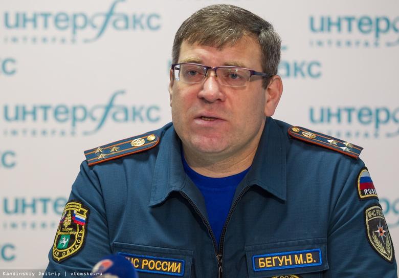 ФСБ задержала главу томского МЧС Бегуна во время получения взятки
