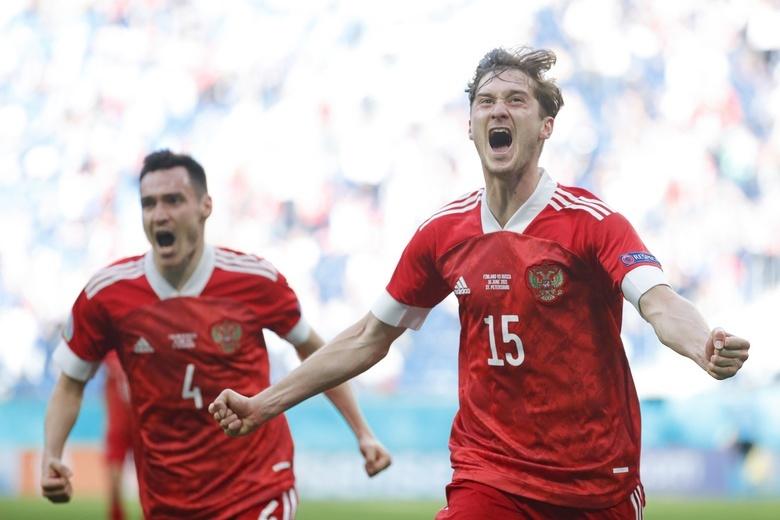 Россия обыграла Финляндию в матче Евро-2020