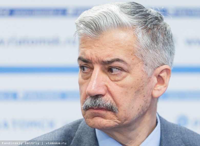 Титов инициировал отставку томского бизнес-омбудсмена Падерина