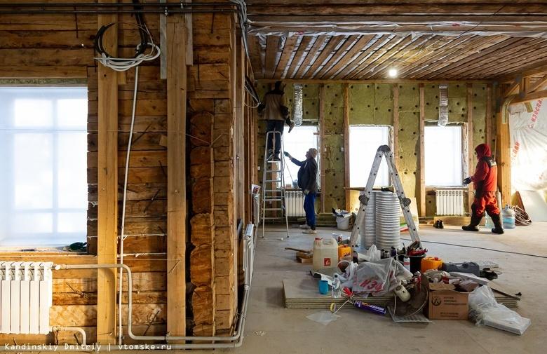 Томская область в апреле вошла в лидеры по спросу на ремонт и строительство