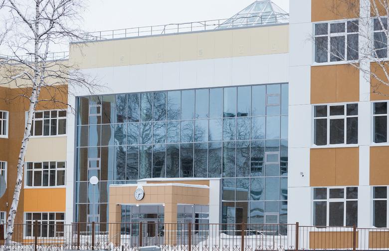 Строительство новой школы на Никитина в Томске завершено