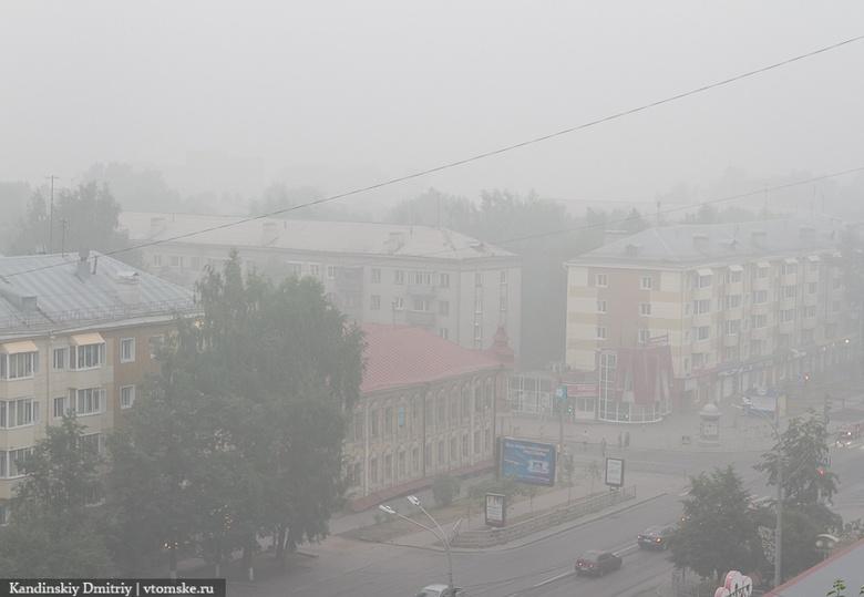 МЧС назвало причины дымки и запаха гари в Томске