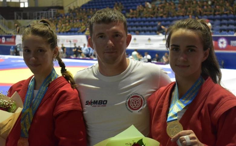 Томские самбистки попали в число призеров на международном турнире