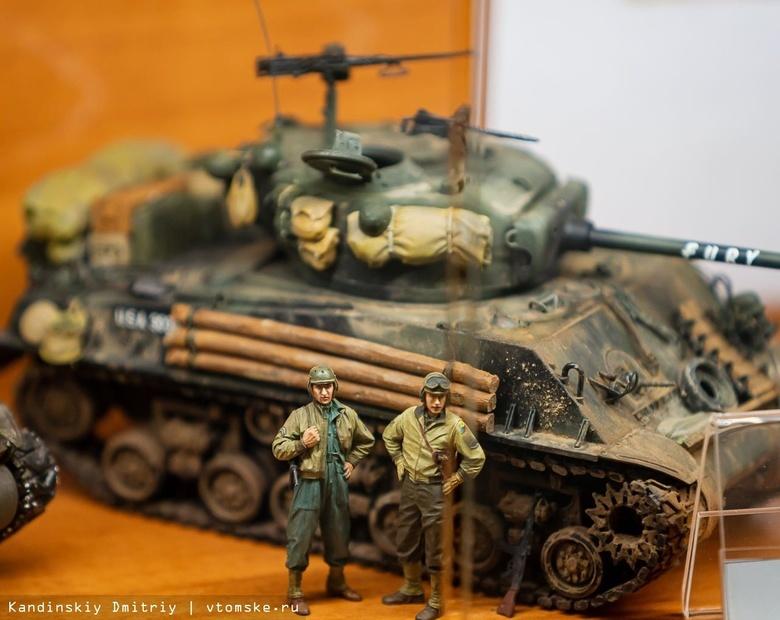 Миниатюрные танки, самолеты и корабли смогут увидеть томичи на выставке моделистов
