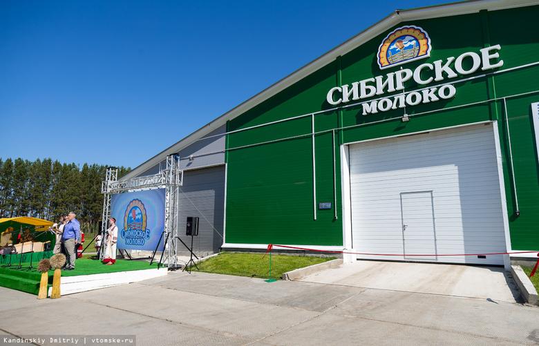 Новая молочная ферма с племенными коровами открылась в Асиновском районе