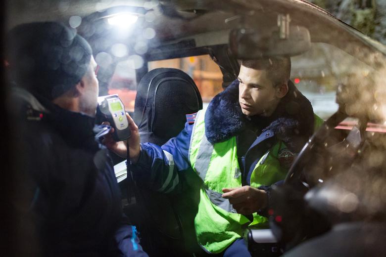 Более 60 нетрезвых водителей задержали в Томской области за выходные