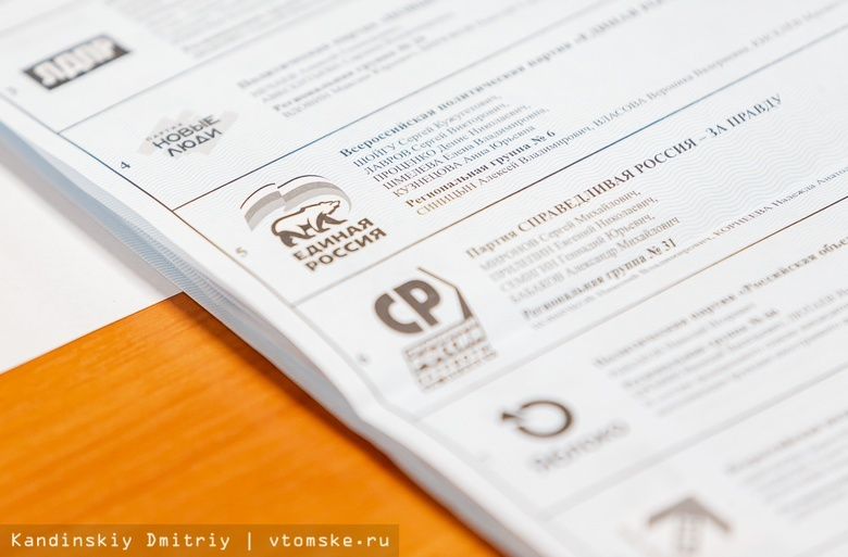 Кандидаты от ЕР лидируют в большинстве округов на выборах в думу Томской области