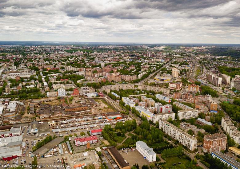 Синоптики предупреждают о сильных порывах ветра и грозах в Томской области