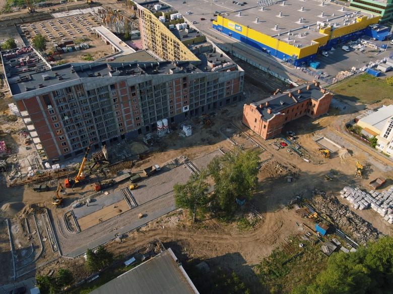 Благоустройство новой площади временно изменит схему движения на ул.Пушкина