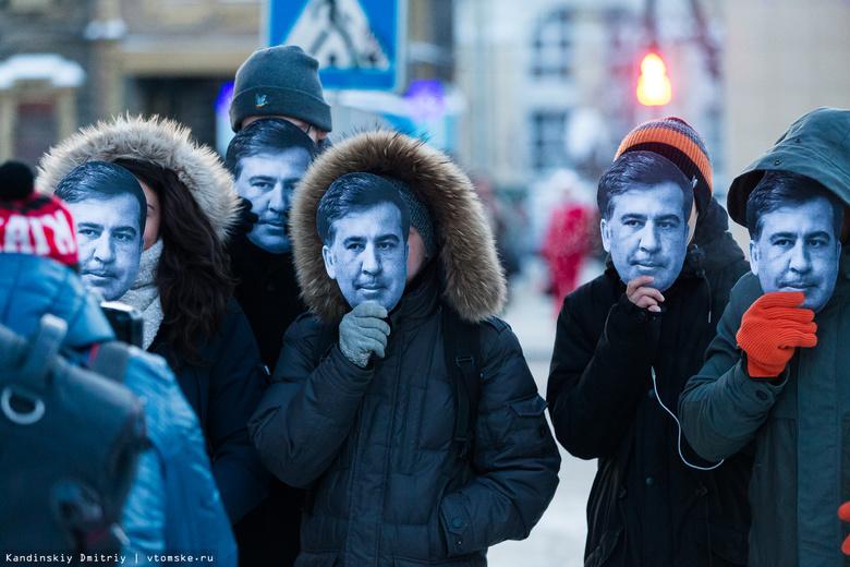 В Томске прошел забег «Саакашвили»