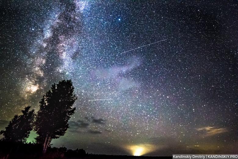 Пик метеорного потока Лириды пройдет над Томском в ночь на субботу