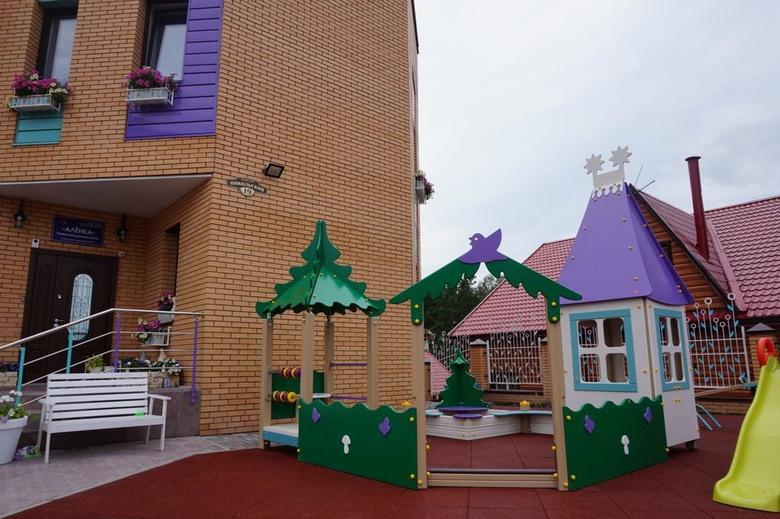 Томский фонд открыл для онкобольных детей игровую площадку