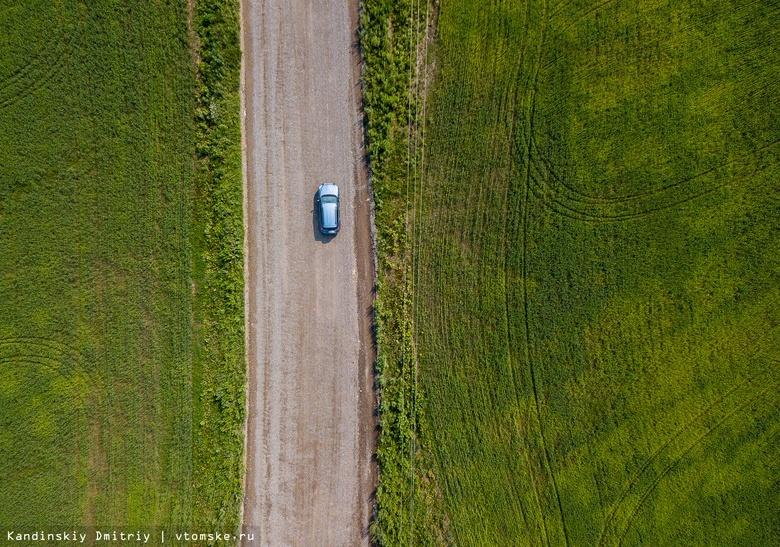 Транспортный поток на подъезде к Томской области переключили на объездную дорогу