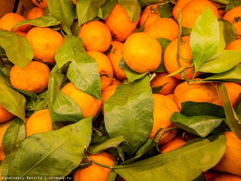 Исследование: Томская область вошла в топ-5 регионов по продажам мандаринов к Новому году