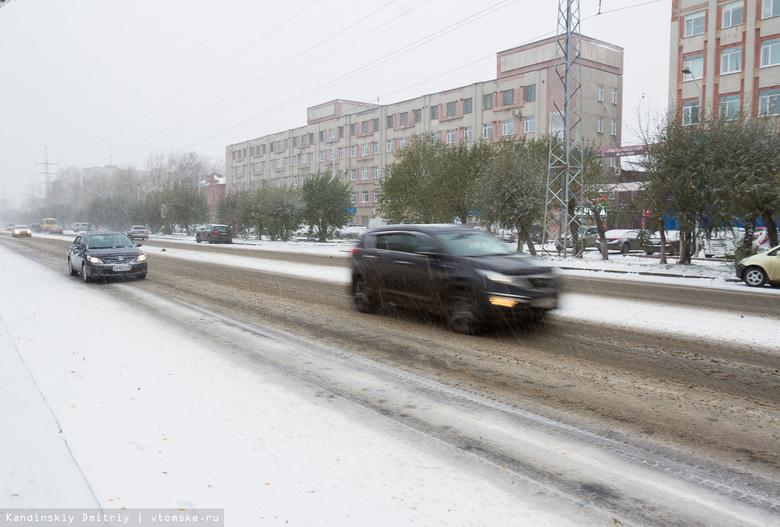 Томичей предупреждают о мокром снеге и порывах ветра до 23 м/с в субботу