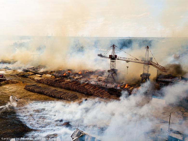 Внеплановые проверки пройдут на томских предприятиях ЛПК после всплеска пожаров