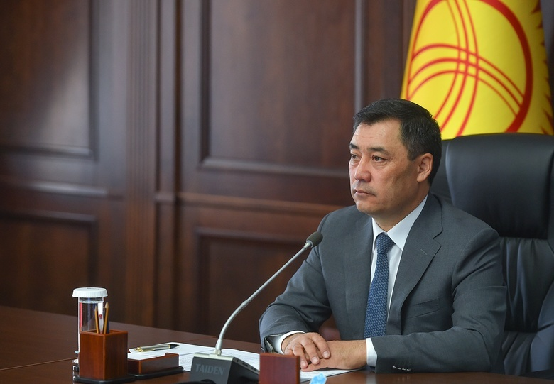 Садыр Жапаров побеждает на выборах президента Киргизии