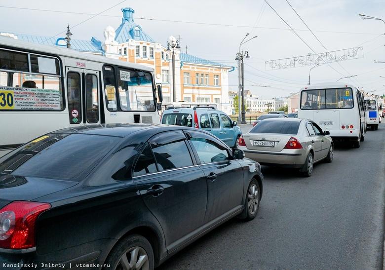 Автобусы Томска изменят маршруты движения из-за раскопок на Ленина