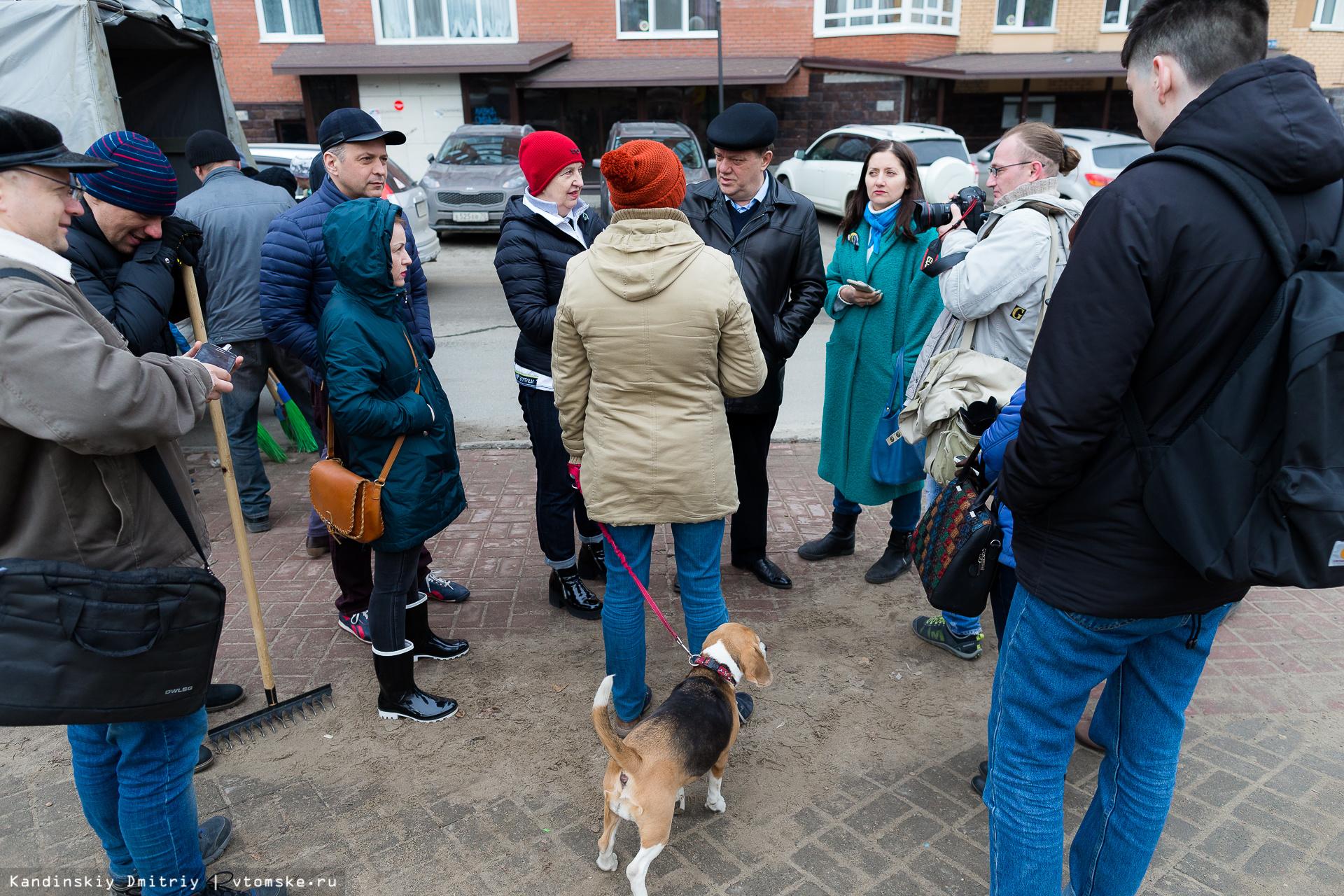 Мэр призвал томичей активней выходить на общегородские субботники