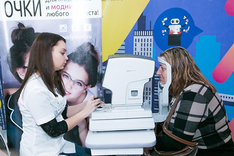 Живой взгляд бесплатно проверил зрение 2,5 тыс томичей