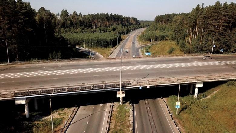 Ремонт поврежденной развязки в районе Северска обошелся в 5 млн руб