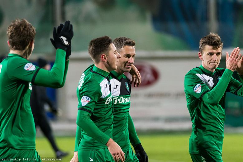 «Томь» расстанется с рядом игроков в зимнюю паузу