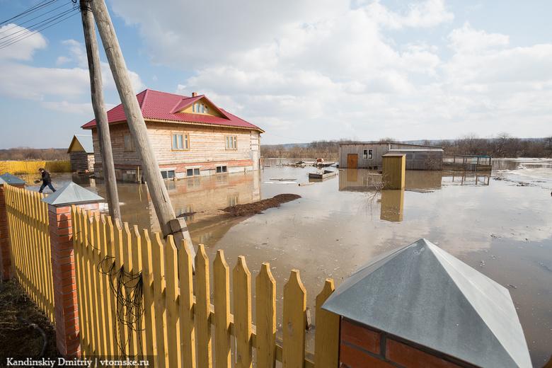 Томичей предупреждают о возможном подтоплении прибрежных территорий