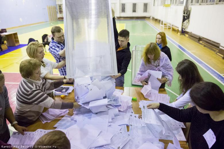 Владимир Путин лидирует на выборах президента РФ в Томской области