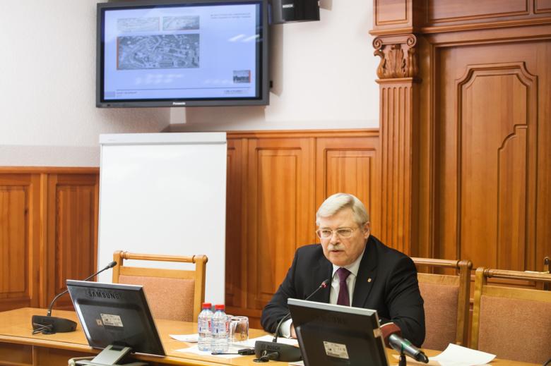 Реконструкция набережной Ушайки завершится к 2017 году