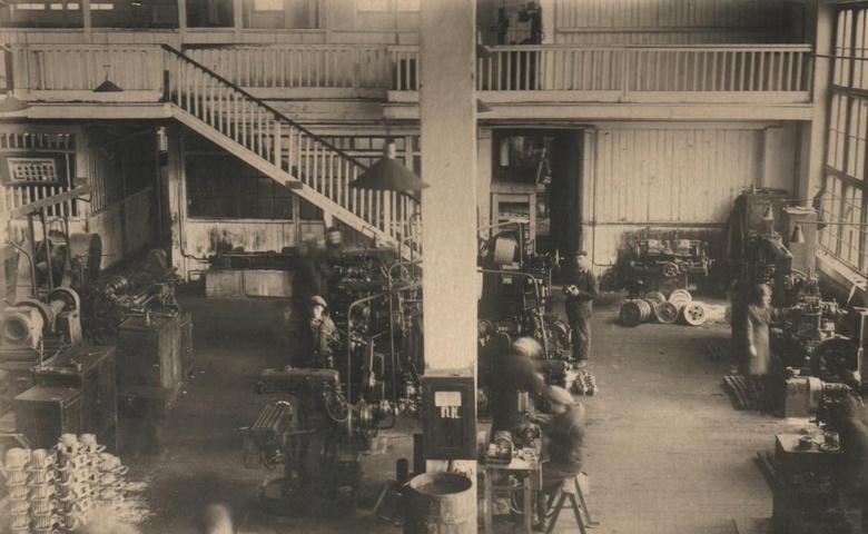 Перестроенный цех  ТЭМЗа, 1940-е годы