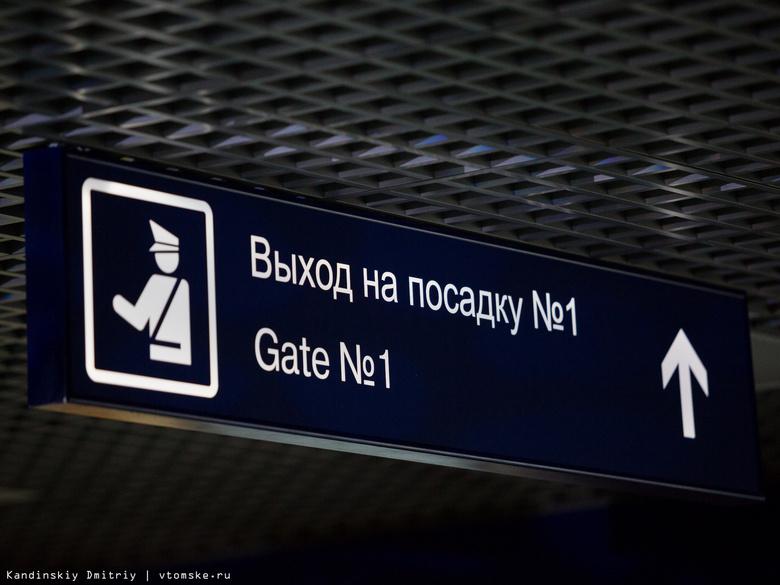 В новогодние праздники из томского аэропорта будет совершено 77 рейсов