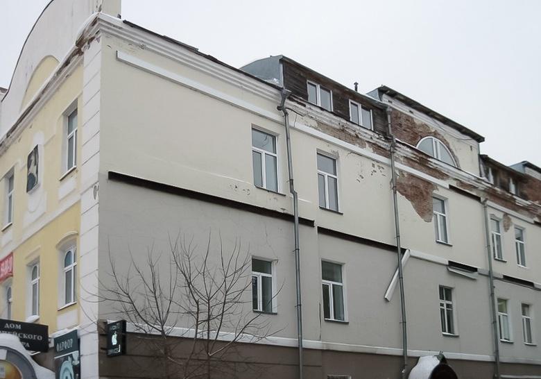 Помещения дореволюционного здания в центре Томска выставлены на торги