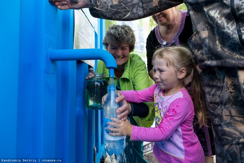 Более 17 тыс жителей томских сел получат доступ к чистой питьевой воде