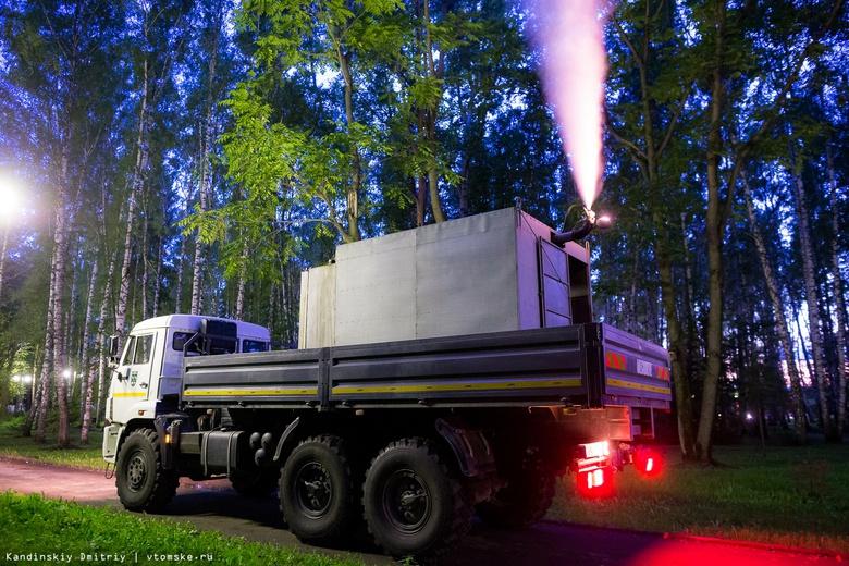 Убить вредителя: Лагерный сад Томска обработали от шелкопряда