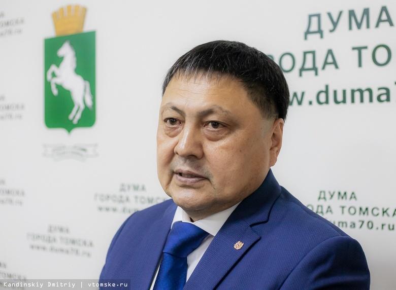 Новым спикером думы Томска избран Чингис Акатаев