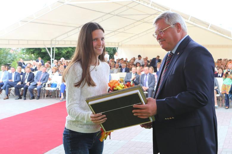 Жвачкин вручил областные награды 62 томским спортсменам