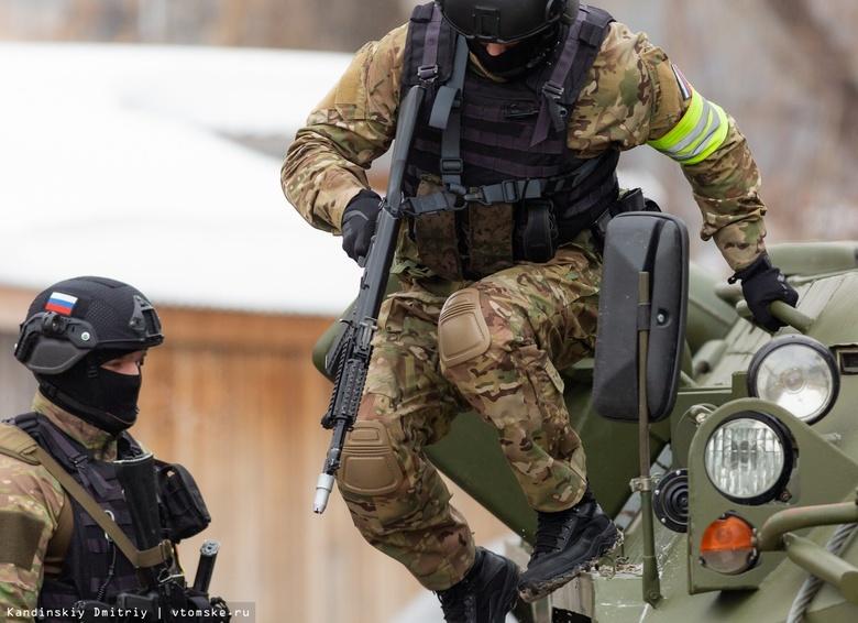 Силовики обезвредили «террористов» на бывшем реакторе в Северске