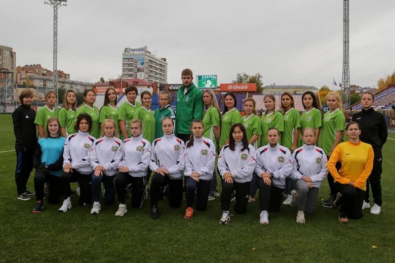 Женский ФК «Томь» одержал первую победу в своей истории