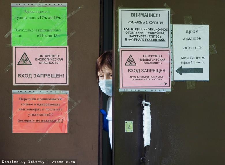 Вспышку коронавируса COVID-19 выявили в томской горбольнице №3