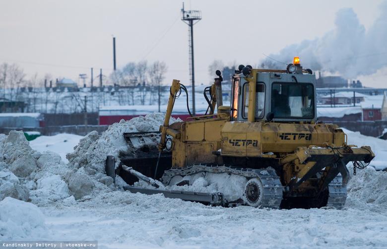 Жители томского поселка недовольны открытием снегоотвала в Предтеченске
