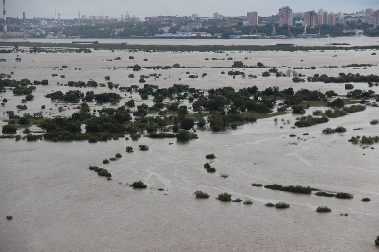 В Хабаровском крае паводок подтопил почти 200 домов