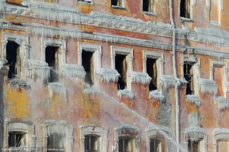Мэрия Томска подаст иск к ЧОПу, охранявшему горевшее здание училища связи