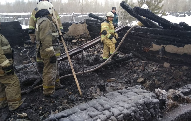 Названа предварительная причина пожара с 11 погибшими в Томской области
