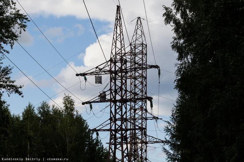 Порядка 15 аварий на электросетях произошло ночью в Томске из-за грозы