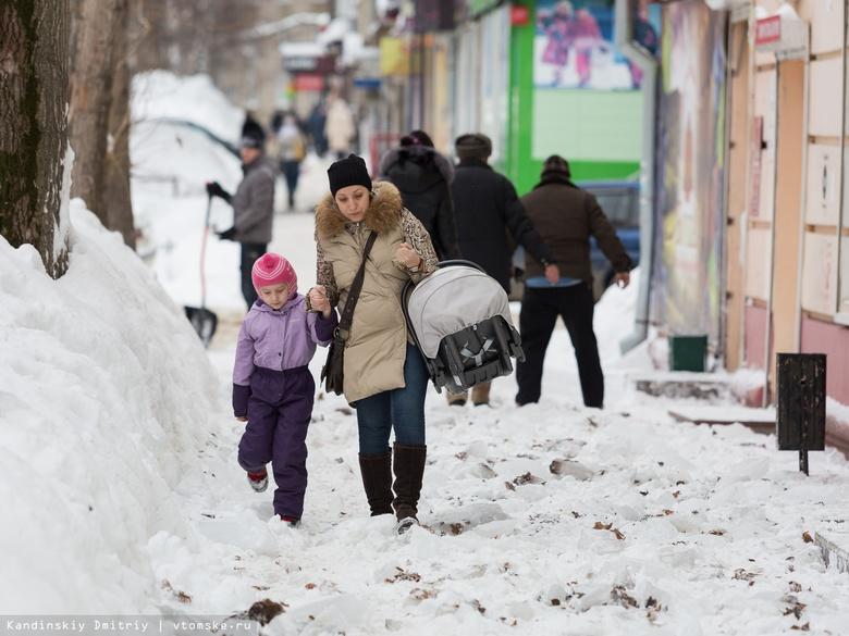 Томские предприниматели за день получили почти 80 предписаний за плохую уборку снега